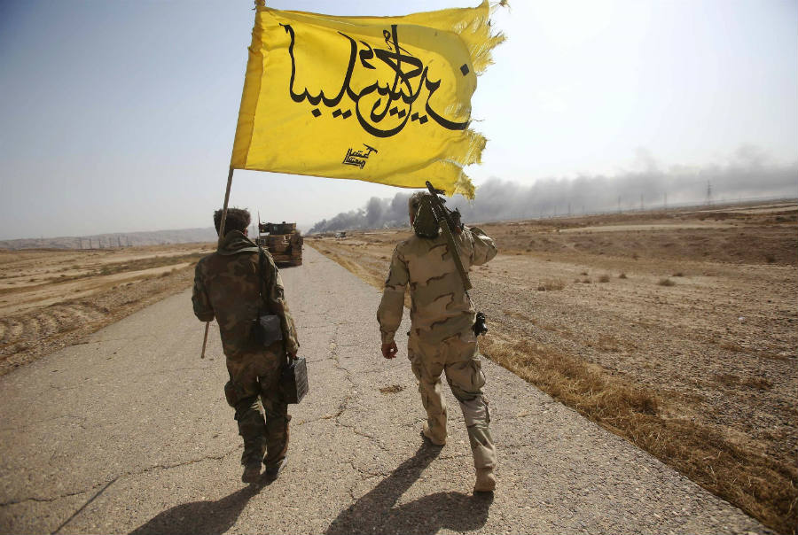 Iraqi forces take northern edge of ISIS-held town