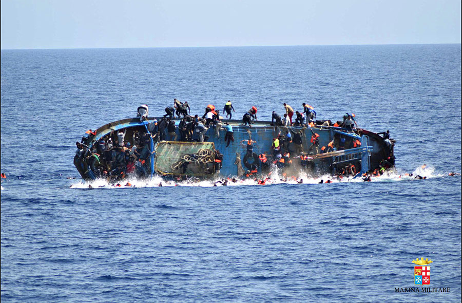 Over 700 fatalities in the Mediterranean