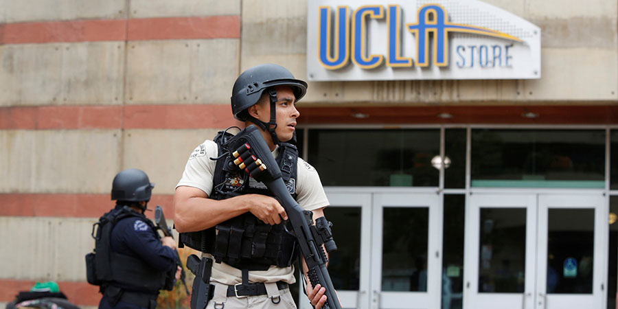 UCLA shooter may have killed wife