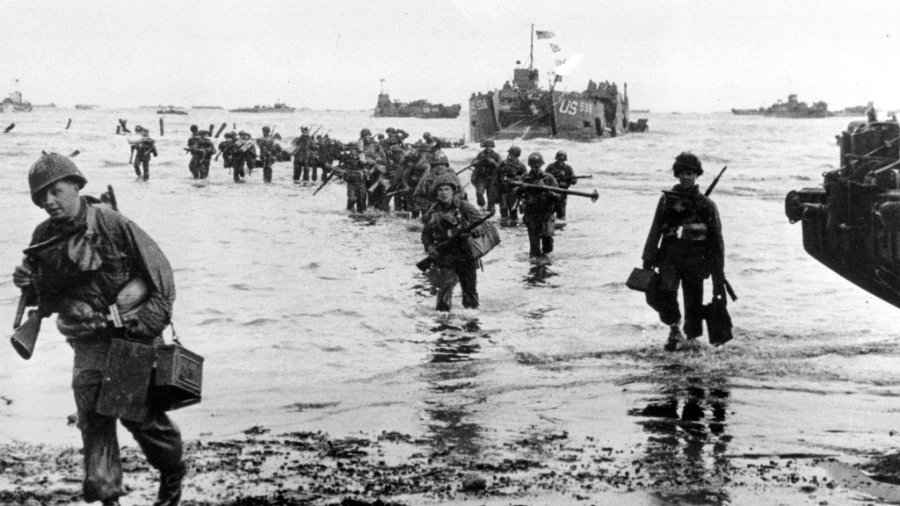 "June 6, 1944, was the day a massive military offensive with the code name ""Operation Overlord"" was set in motion to take Adolf Hitler out of the power. Photo credit: Los Angeles Times"