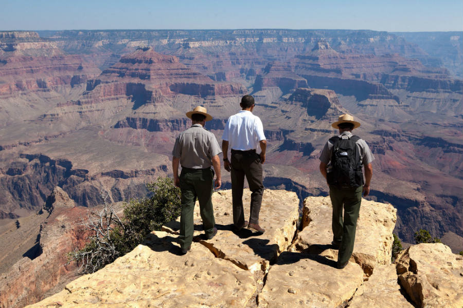 The Obama family is visiting the 'must-see' parks nationwide