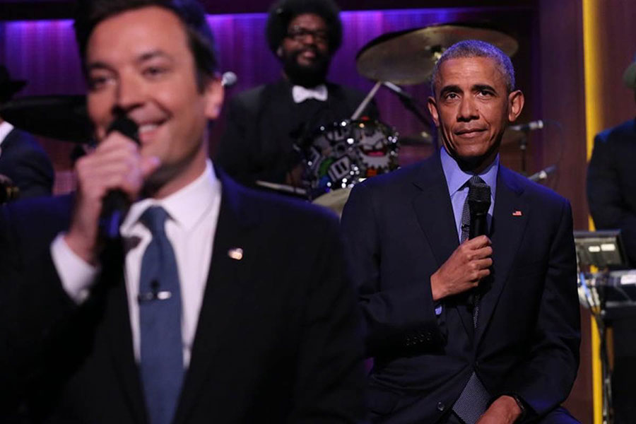 Obama slow jams the news with Jimmy Fallon