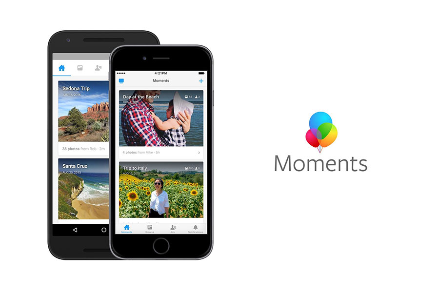 Facebook is making users download Moments app