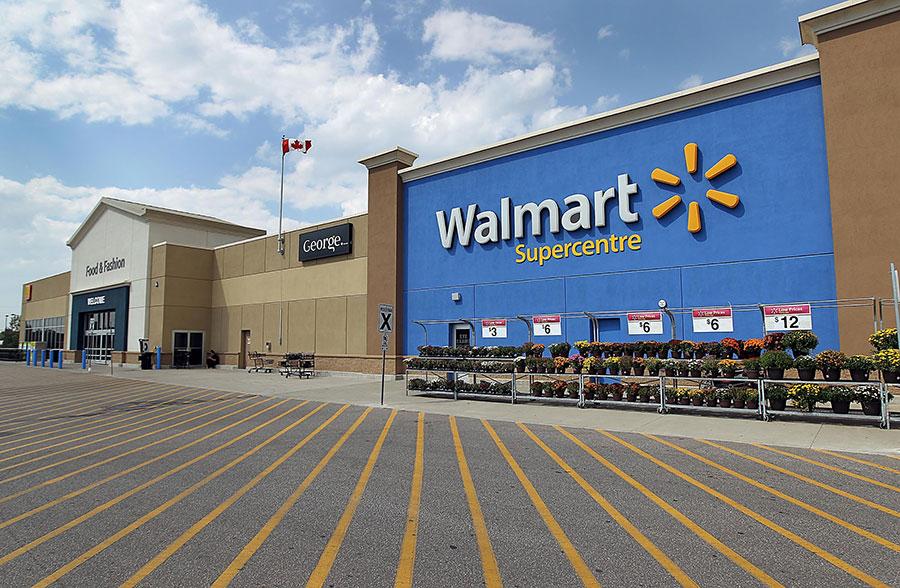 Canadian Walmarts will no longer accept Visa cards