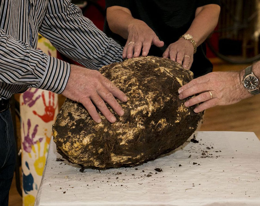 Man finds 2,000 year-old butter
