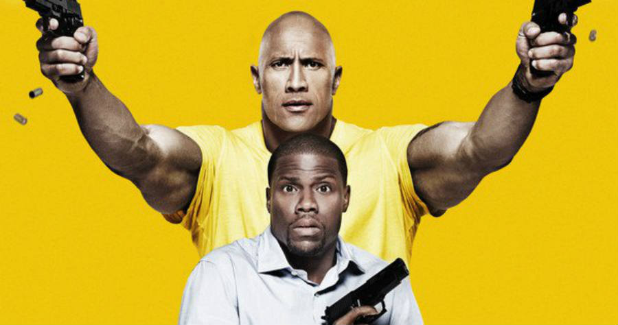 An official poster for the upcoming movie starring ex-wrestling sensation Dwayne Jhonson and famed comedian Kevin Hart. Image Credit: Movie Web