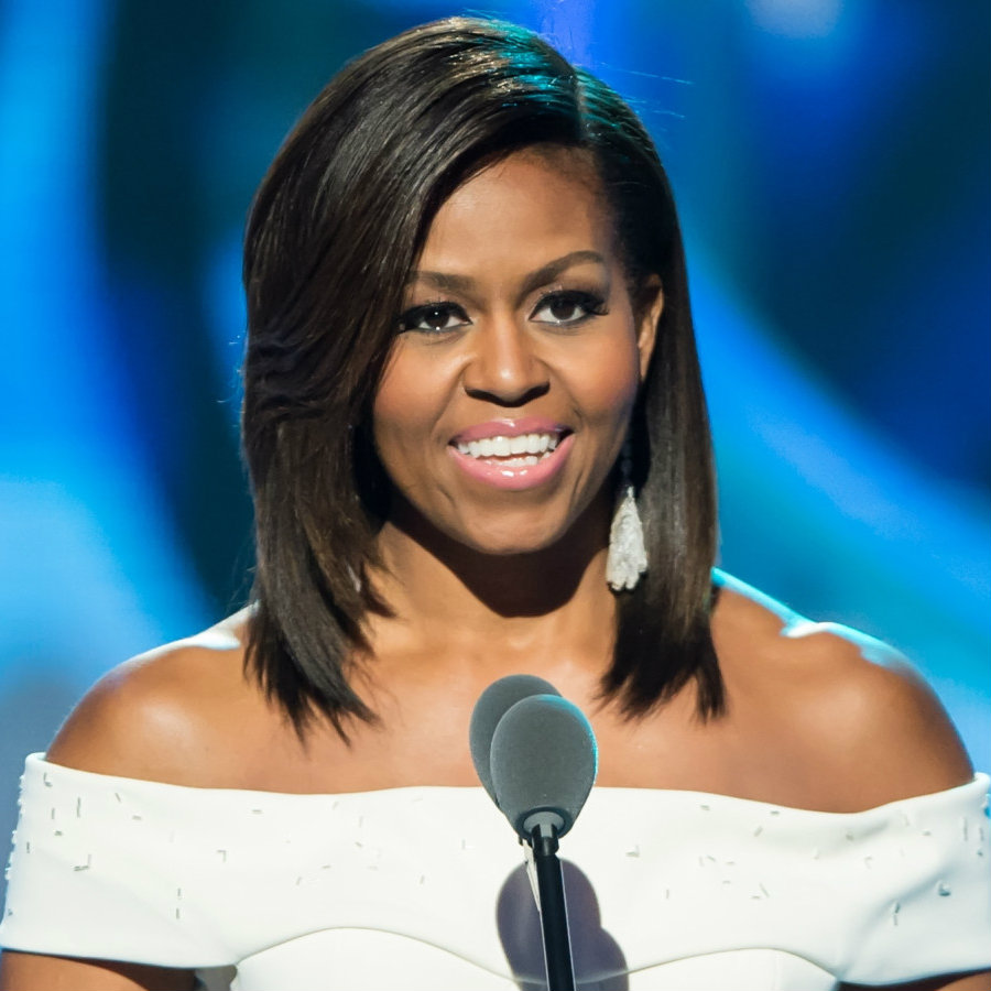 The First Lady founded an initiative called Let Girls Learn, and she will travel around the world visiting more than 60 million young women who are not in school to encourage them to take it up. Image Credit: Elle