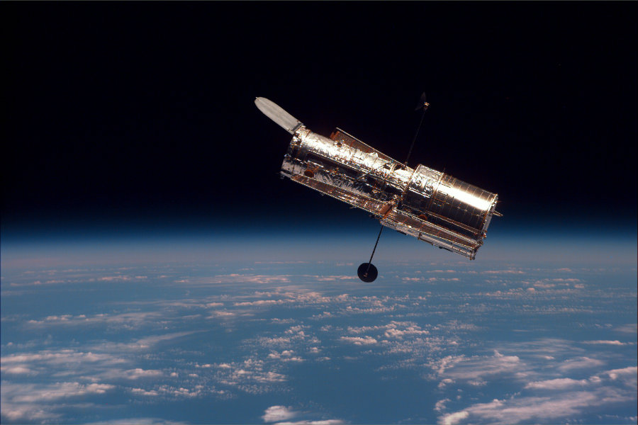 NASA extended the Hubble Space Telescope science operations contract on June 23, 2016. Photo credit: Wikipedia