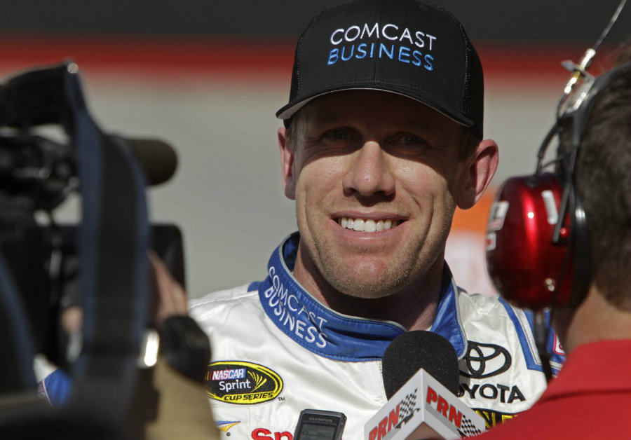 The American driver Carl Edwards took the pole position in qualifying at the Toyota Save Mart 350 to be held on Sunday at the Sonoma Raceway in California. Photo credit: AP Photo / Wade Payne / Knox News