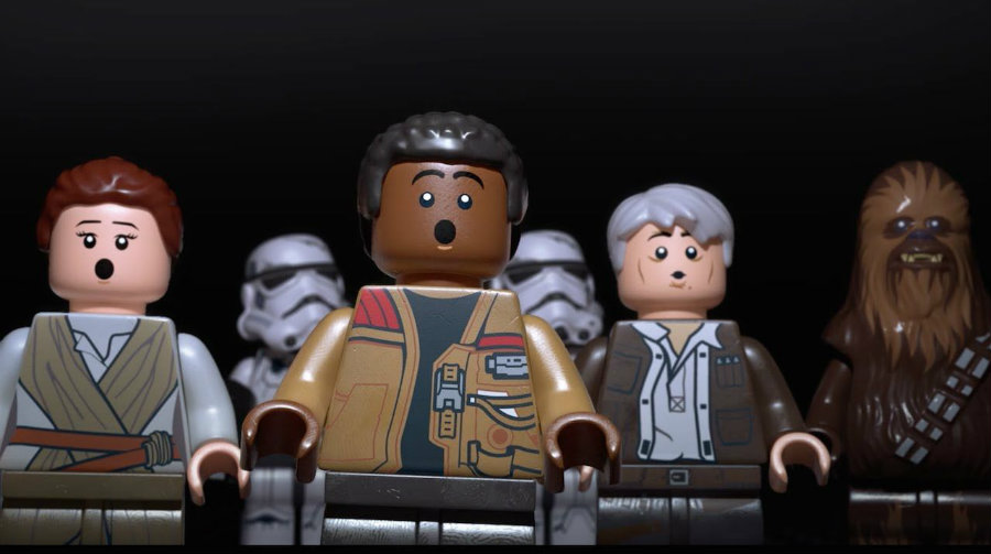 The latest game-adaptation of a Star Wars movie comes from Lego, releasing the game on Tuesday featuring the iconic characters from the blockbuster film. Image Credit: Movie Pilot