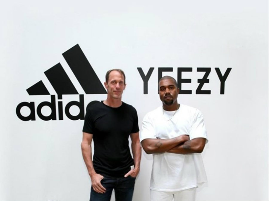 Kanye West and German sportswear company Adidas have decided to strengthen and extend their lucrative partnership, which had witnessed a rise in the company's overall annual sales by 10% in the previous year. Photo credit: Adidas U.S. / BroBible
