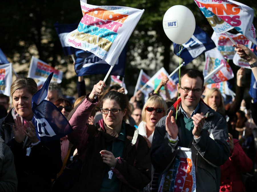 There is no way to tell how many schools are going to attend the call because the National Union of Teachers has members all around the country. Image Credit: Independent