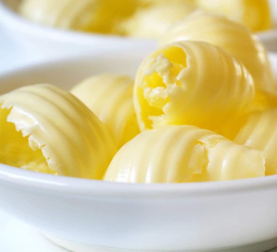 An international team of scientists says they cannot find a reliable link between a moderate consumption of butter and a significant increase in mortality rates. Photo credit: CSK Food Enrichment
