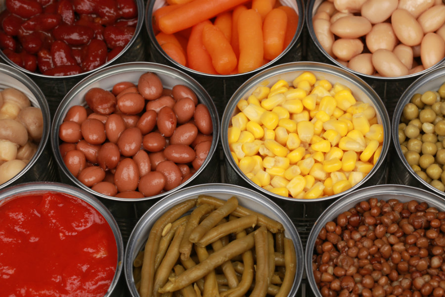 According to the FDA, canned soups commonly sold in supermarkets across the United States are linked to BPA, a chemical that could lead to diabetes or cardiovascular diseases. Image Credit: Laboratory Equipment