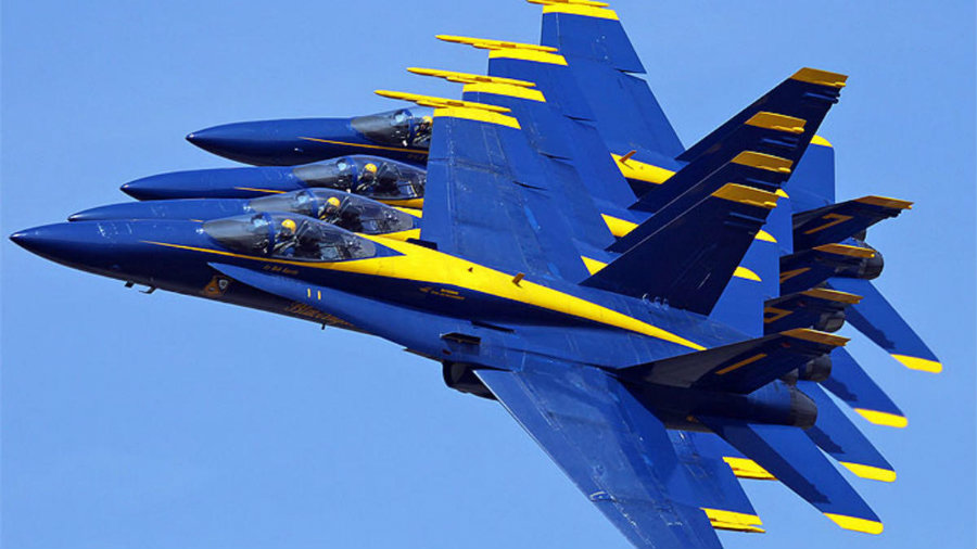 A special treat is also in store for the area, provided by the US Navy's Blue Angels. This will be the first appearance the Blue Angels will be making after the loss of their Marine Captain, Jeff Kuse, earlier this month while he was practicing in Tennessee. Photo credit: NBC Miami