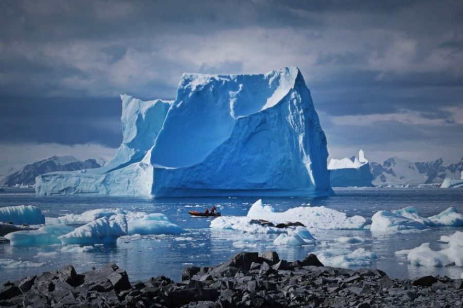 A group of scientists found evidence that the Antarctic sea-ice sheet is not melting due to climate change. It is actually spreading, and it has been doing so since 2000. Photo credit: Nicholas Golledge / ABC.net.au