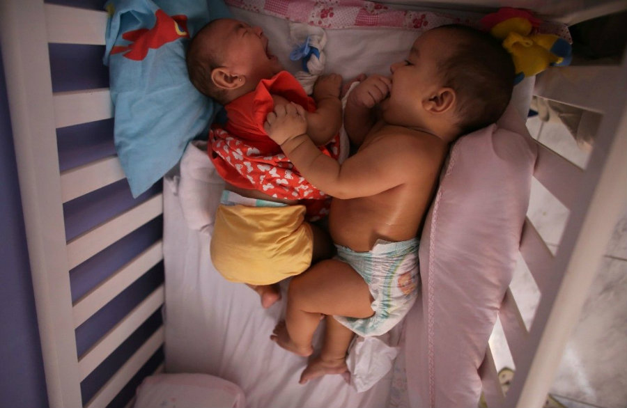 Geneticist Mayana Zatz of the University of Sao Paulo is conducting a study to find out why one Zika twin developed microcephaly and the other didn't. Photo credit: Photo credit: Reuters / Nacho Doce / Fox News