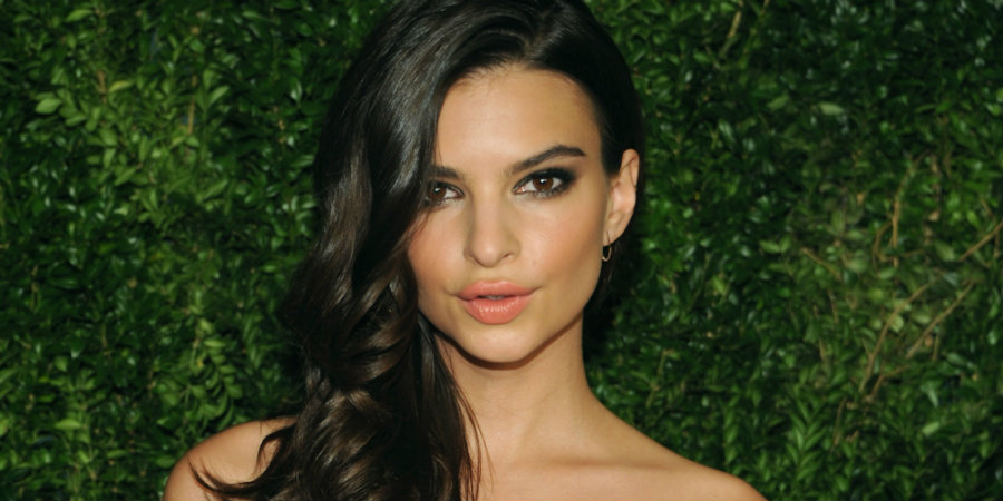 Emily Ratajkowski posed naked for an interview for the August issue of Harper's Bazaar. Photo credit: Andrew Toth / Getty Images / The Huffington Post
