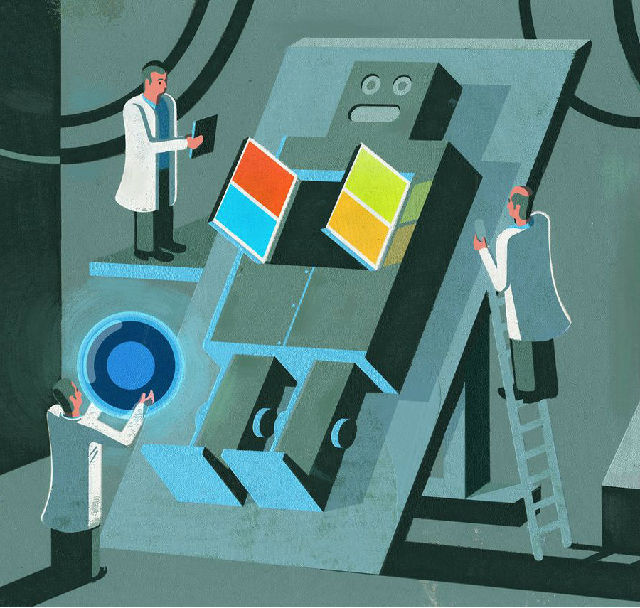 Thanks to a smart strategy from Microsoft to test their AI-based tool, the next artificial intelligence could be the most likely to succeed. Image Credit: The Verge