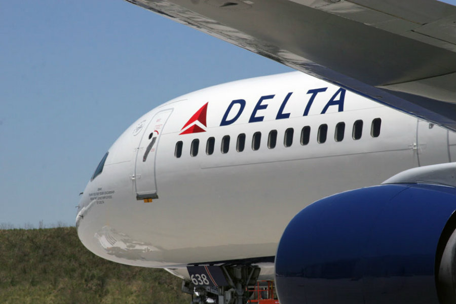 Saturday afternoon a Delta Airlines commercial flight from Atlanta to Denver was diverted to Tulsa after numerous passengers reported got sick on board. Photo credit: The Source