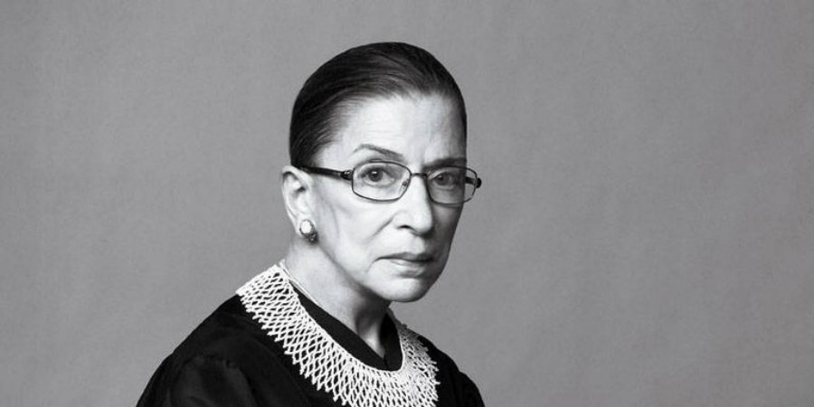 "After saying in an interview to the New York Times that Trump ""says whatever comes into his head at the moment"" and that ""he really has an ego,"" Justice Ruth Bader Ginsburg has publicly taken back her comments about the Republican presidential candidate. Photo credit: Mogul"