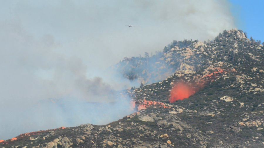 The Sacramento wildfire cost the residents of the area their homes as they had to be evacuated from the area due to the fire's extension. Image Credit: CBS Local