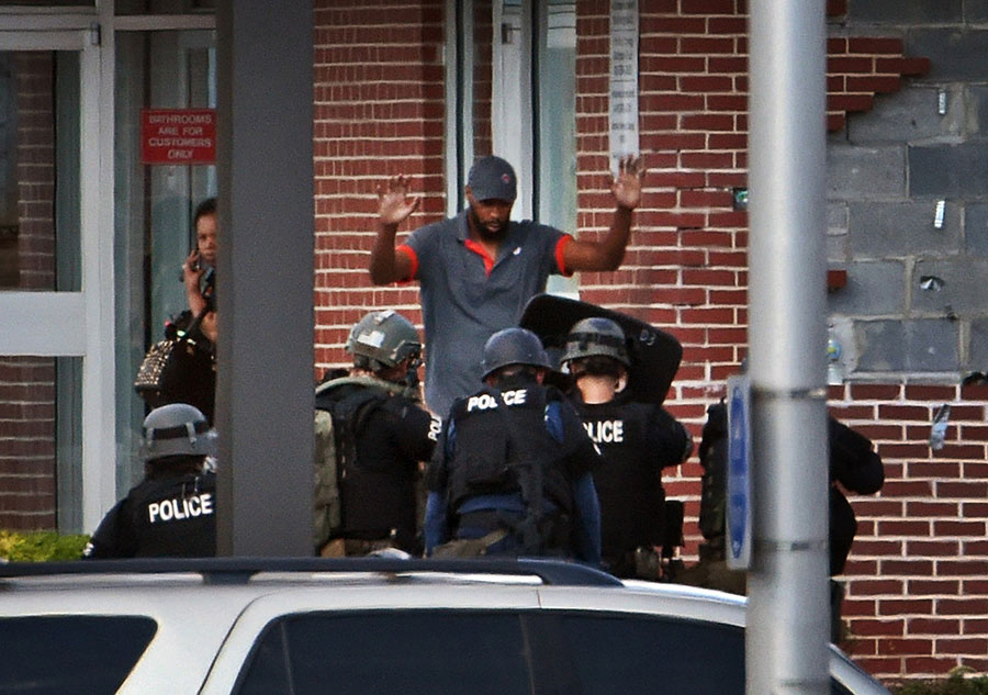 Baltimore hostage situation