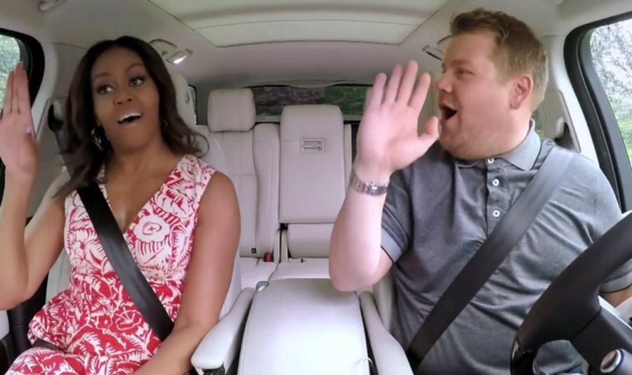 James Corden made famous this section of his show, having different artists jumping on his car while he drives and talks with them. Image Credit: NME