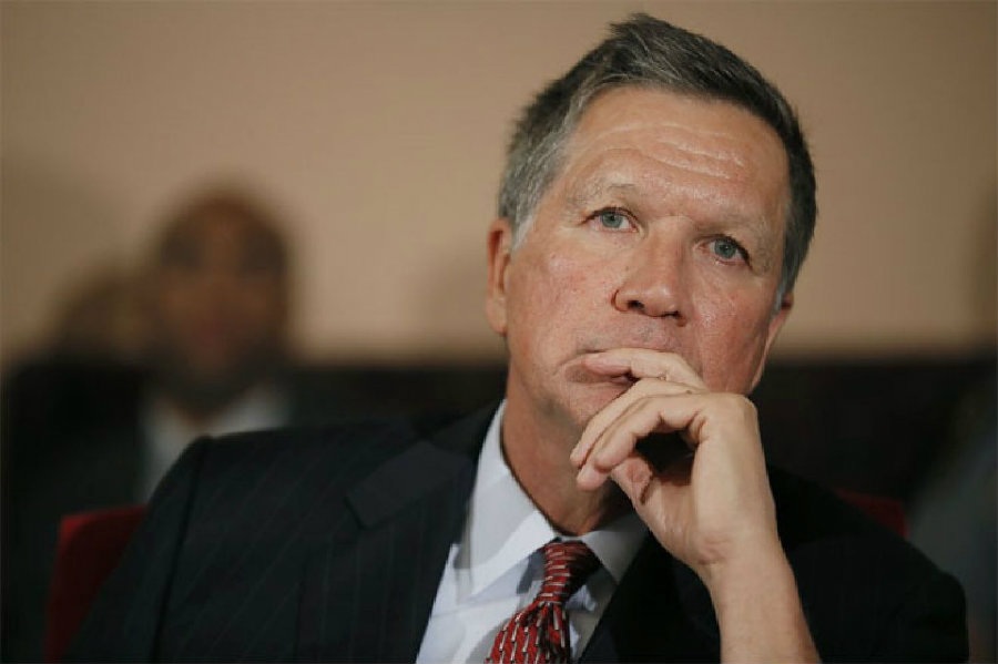 Ohio Governor John Kasich rejected Donald Trump's offer to become the Vice-President. Photo credit: